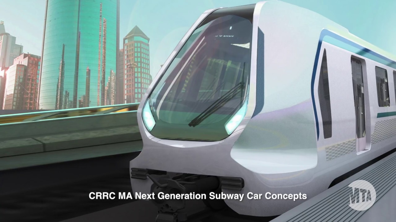 CRRC to Design 'Subway Car of the Future' for New York