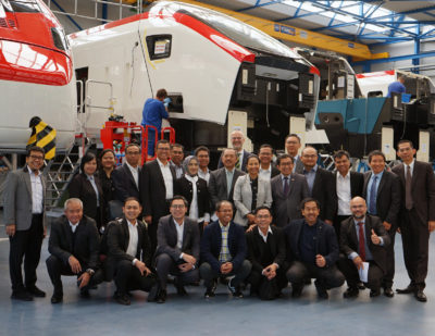 Stadler Enters Asian Market with Indonesian Joint Venture