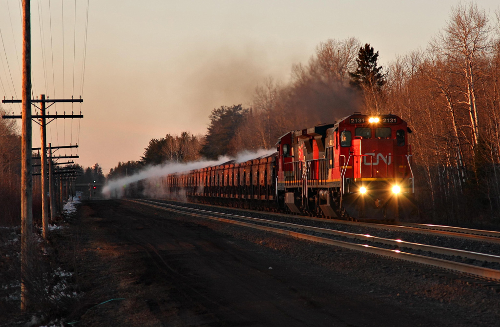 CN Freight Train