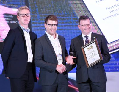 Frequentis Wins Best Use of Critical Communications in Transport