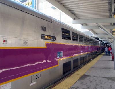 MBTA Orders 80 Commuter Rail Double-Decker Coaches