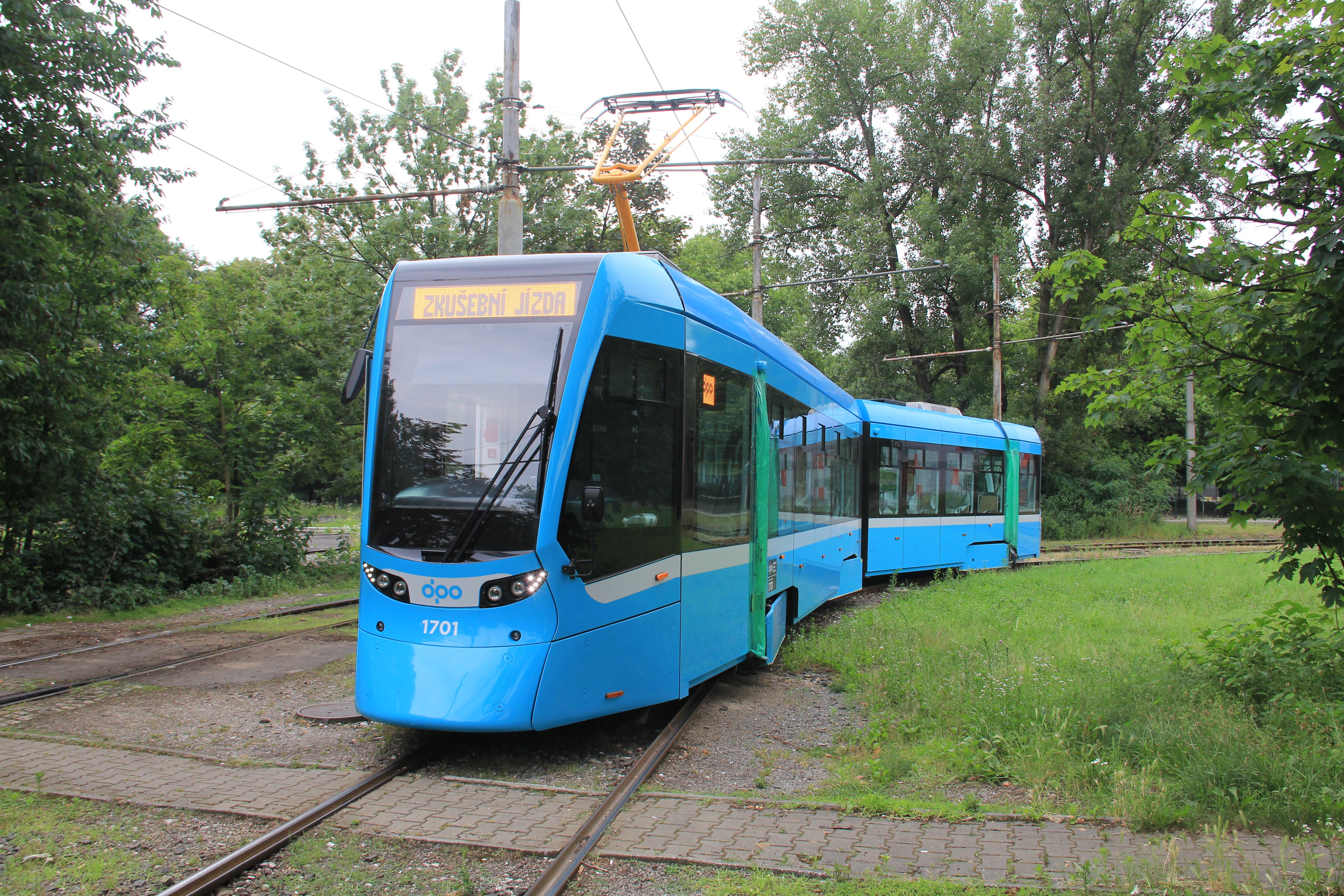 Stadler tram