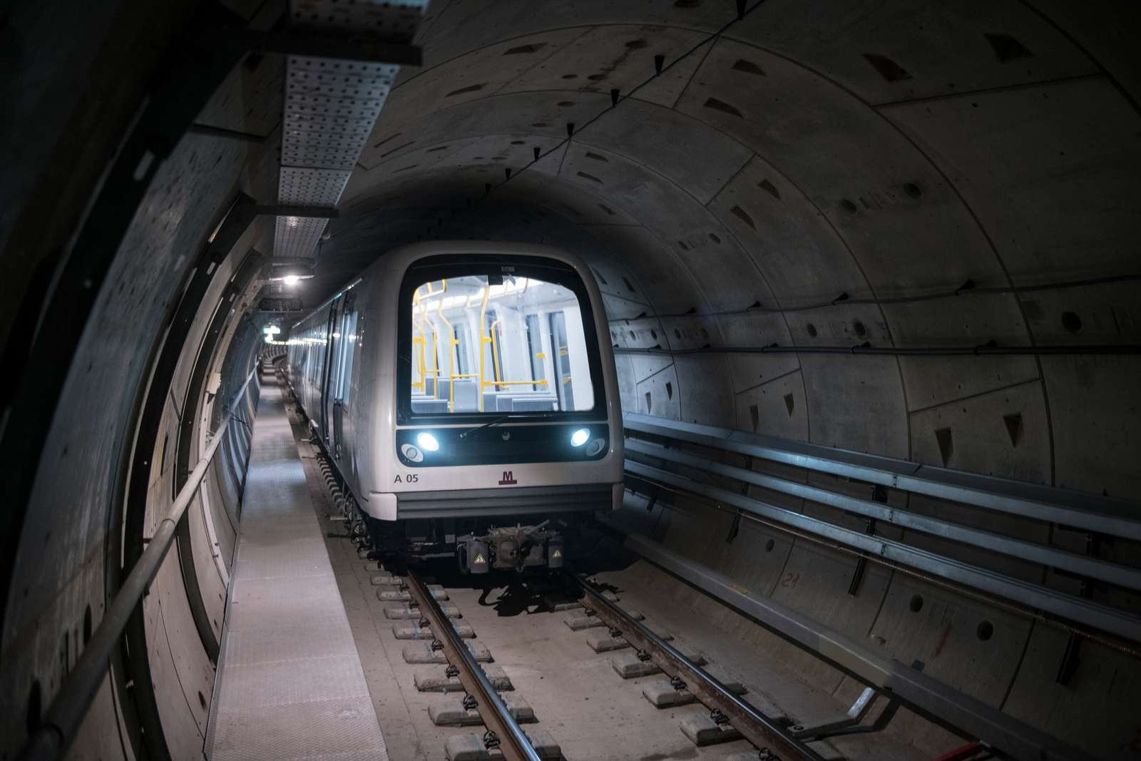 Hitachi metro in Cityringen tunnel