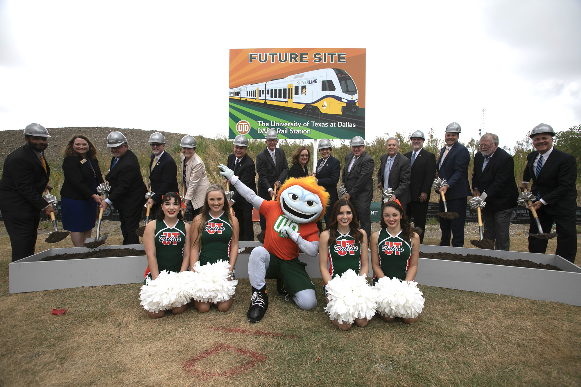 Ground-Breaking for Dallas Area Rapid Transit Silver Line