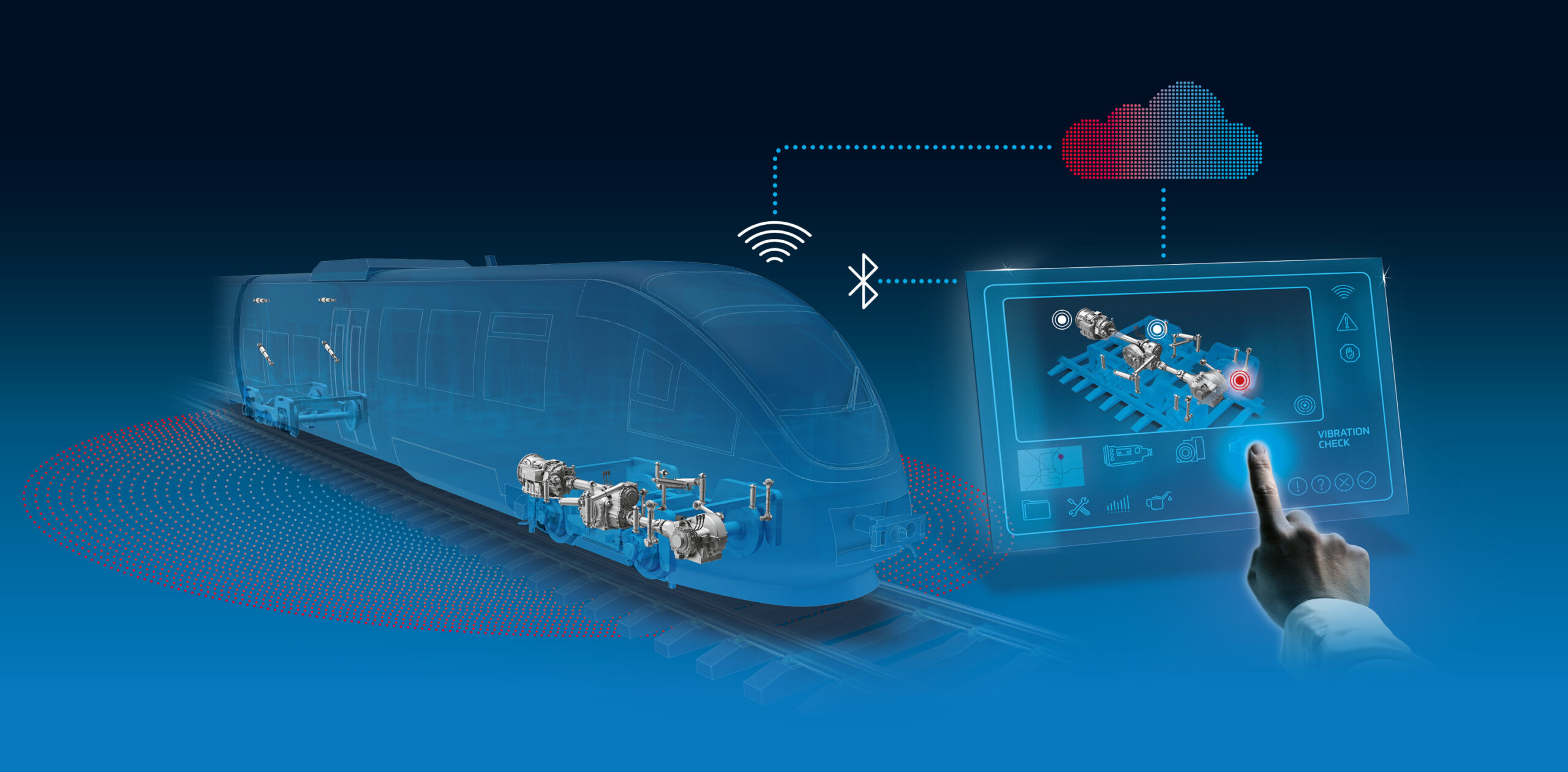 "ZF Condition Monitoring System ""connect@rail"""
