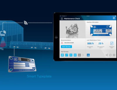 ZF Intelligent Fleet Management Smart Typeplate