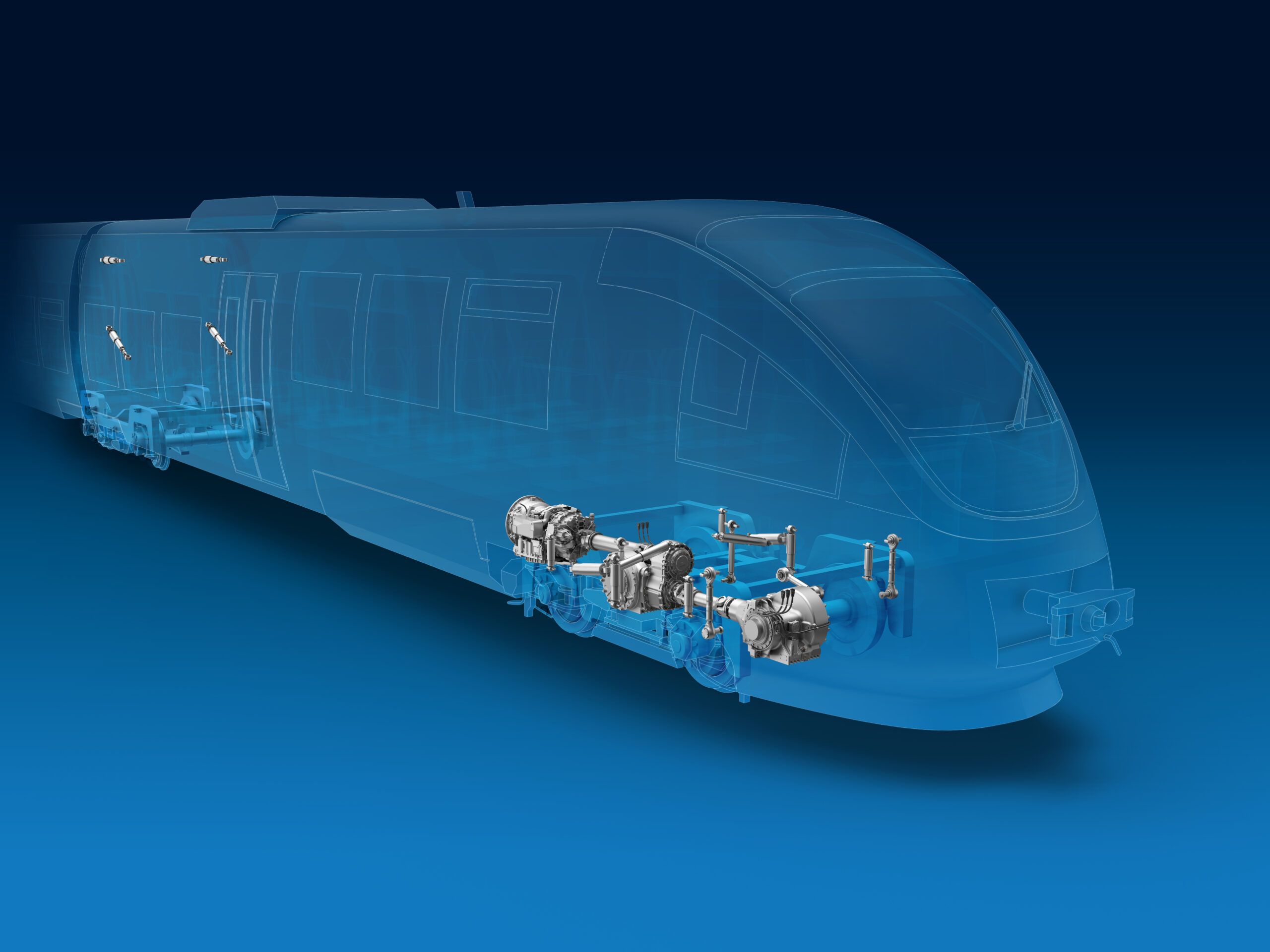 ZF driveline and chassis technology for DMU