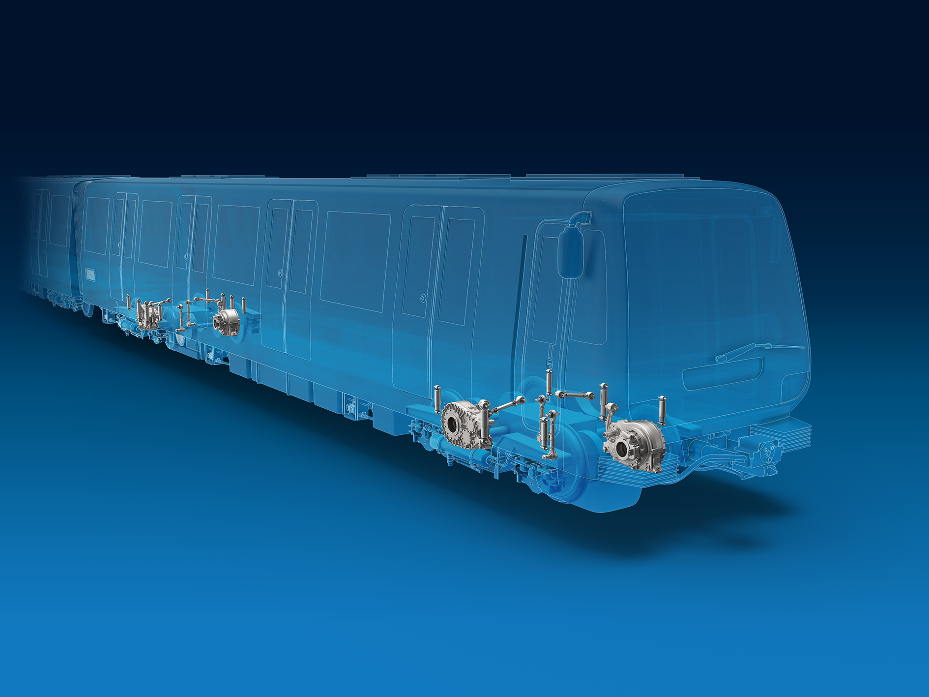 ZF gearboxes for metro vehicles