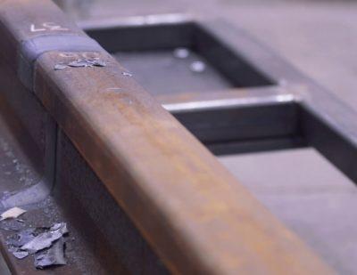 Induction Rail Welding by Mirage Ltd