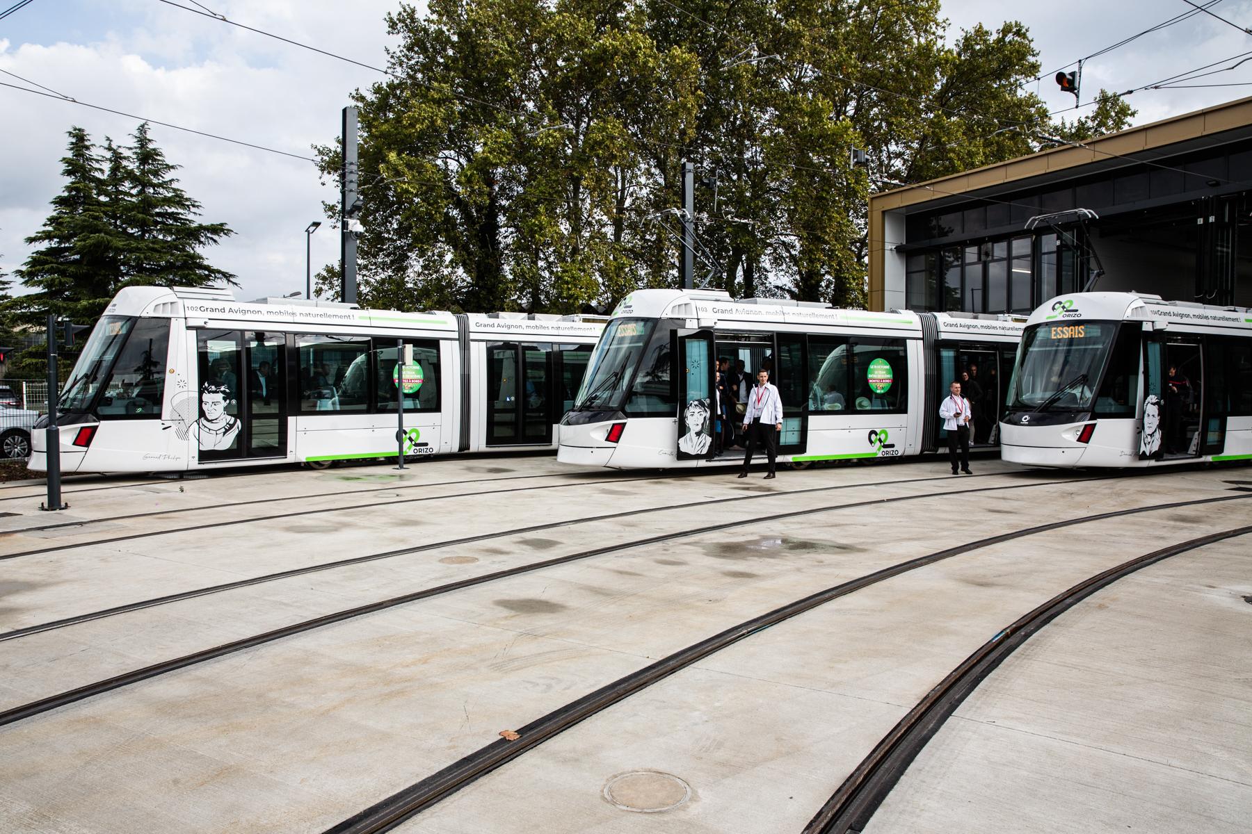 Alstom Citadis X05 compact tram for Avignon