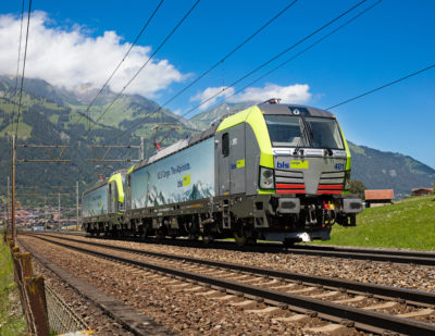 BLS Cargo Acquires 25 Siemens Vectron Locomotives