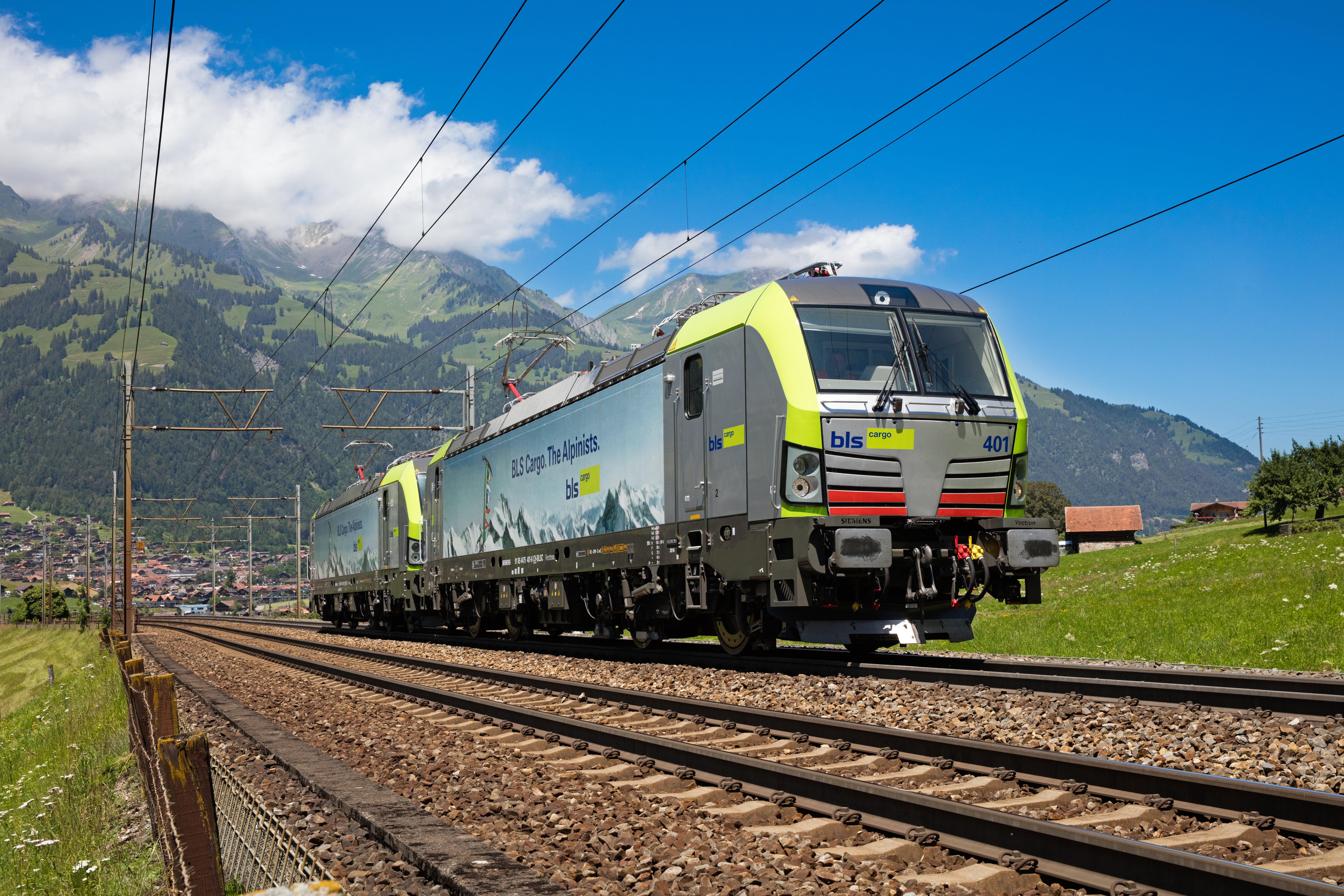BLS Cargo Siemens Vectron locomotive