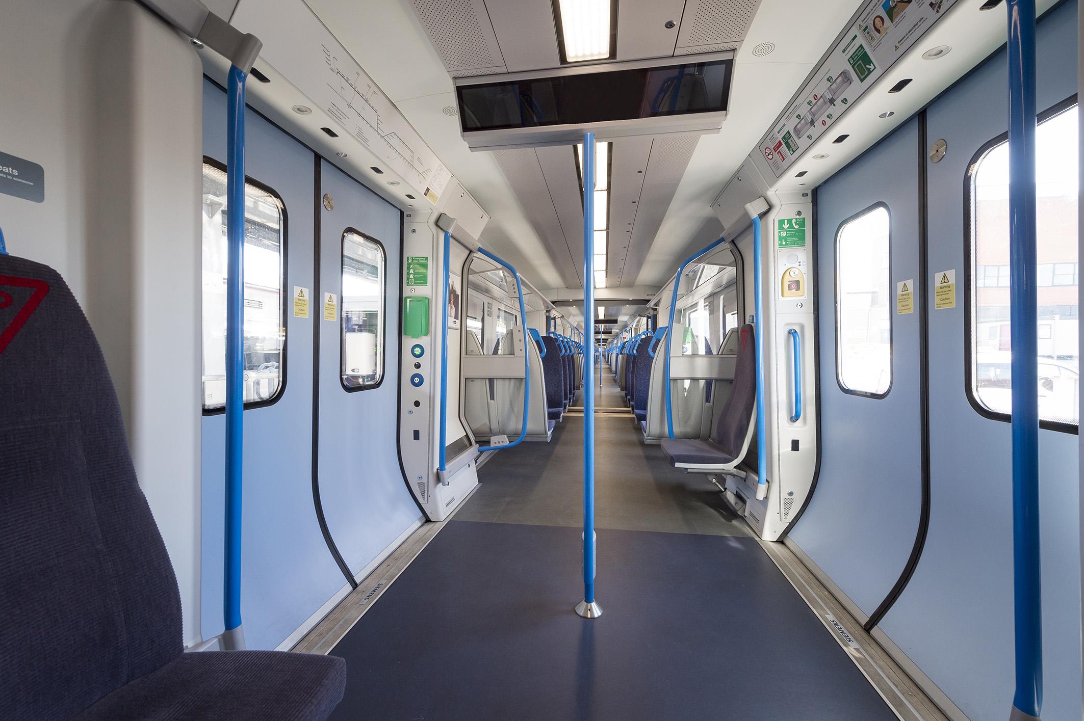 GTR transformation programme –new Class 717s (interior)