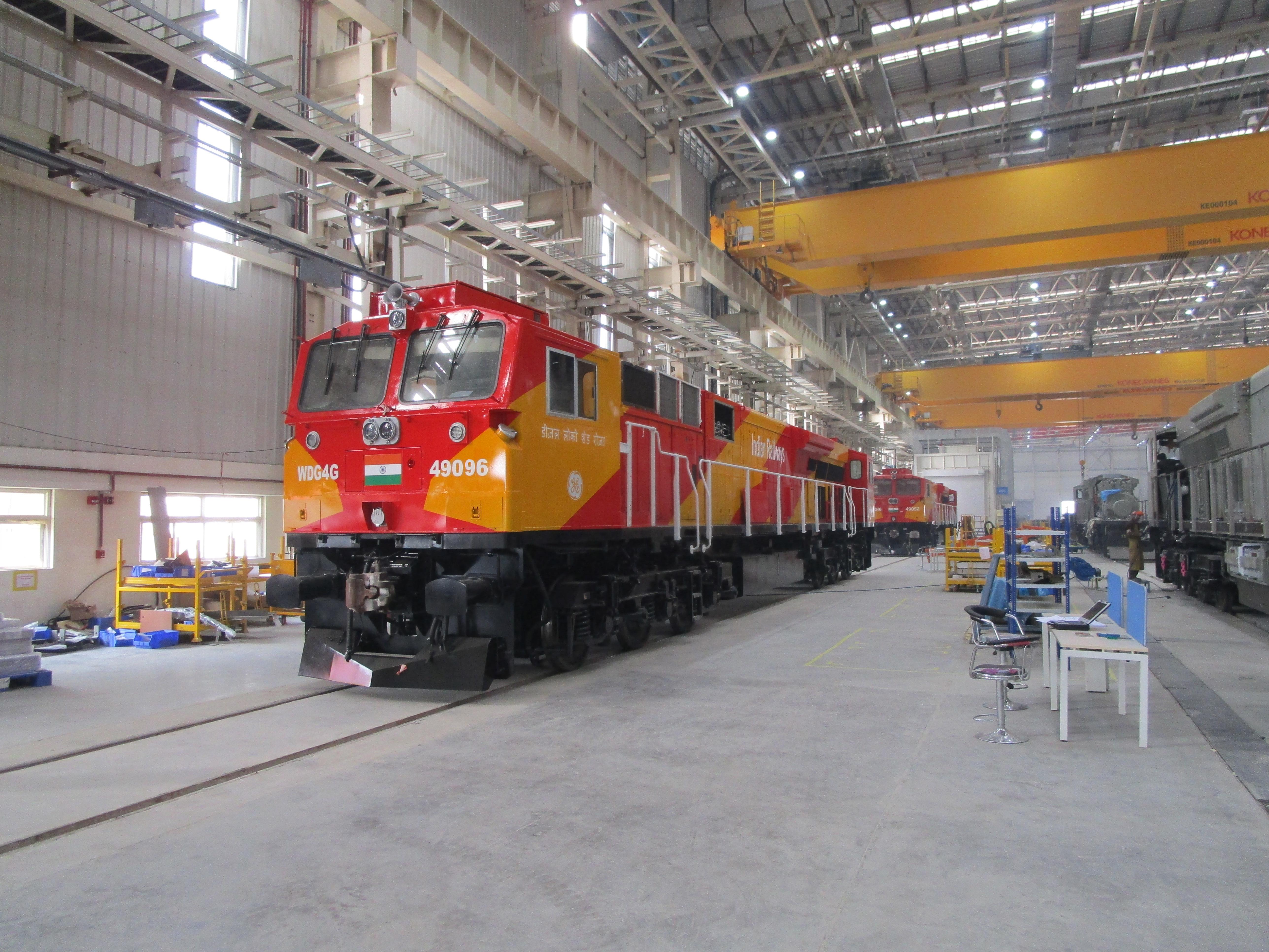 Wabtec locomotive factory in India