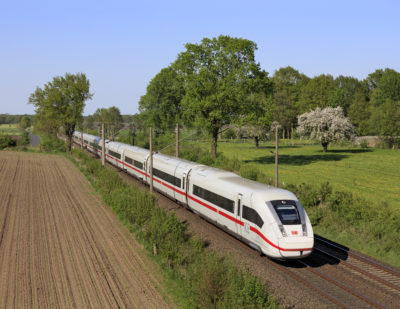 Germany to Cut VAT on Long-Distance Rail Journeys