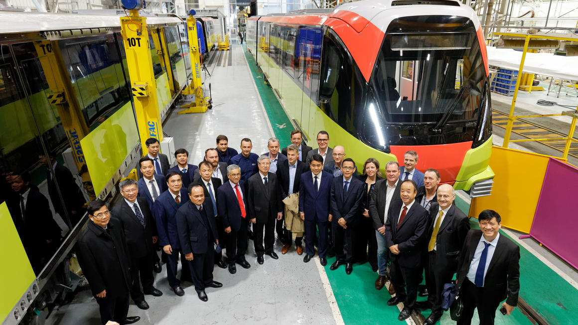 Meeting between Alstom and the Communist Party of Vietnam
