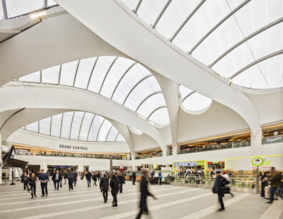 Network Rail and Arup Publish Tomorrow's Living Station Report