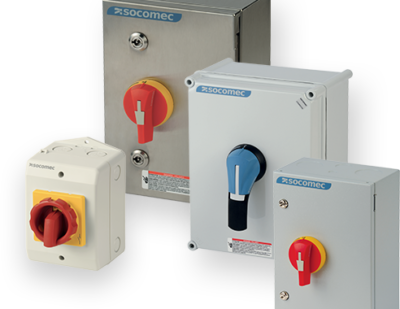 Socomec Enclosed Switches – Making the World Safer