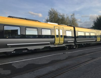 First Stadler Train for Merseyrail Begins Dynamic Testing