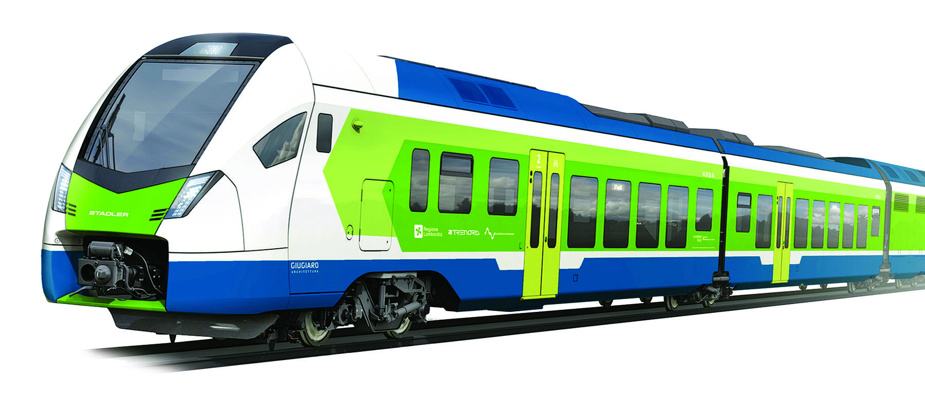 Stadler and FNM Present FLIRT Mock-Up in Milan