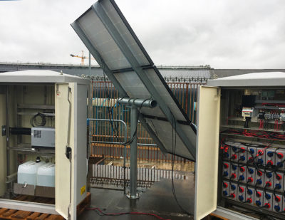 "Unipart Rail Unveil Revolutionary ""Green Energy"" Power Supply System"