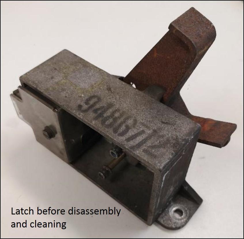 Re-engineered door latch