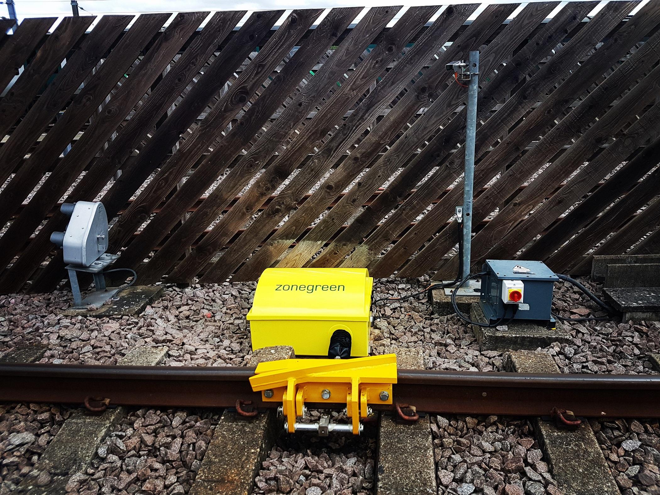 DPPS derailer laser