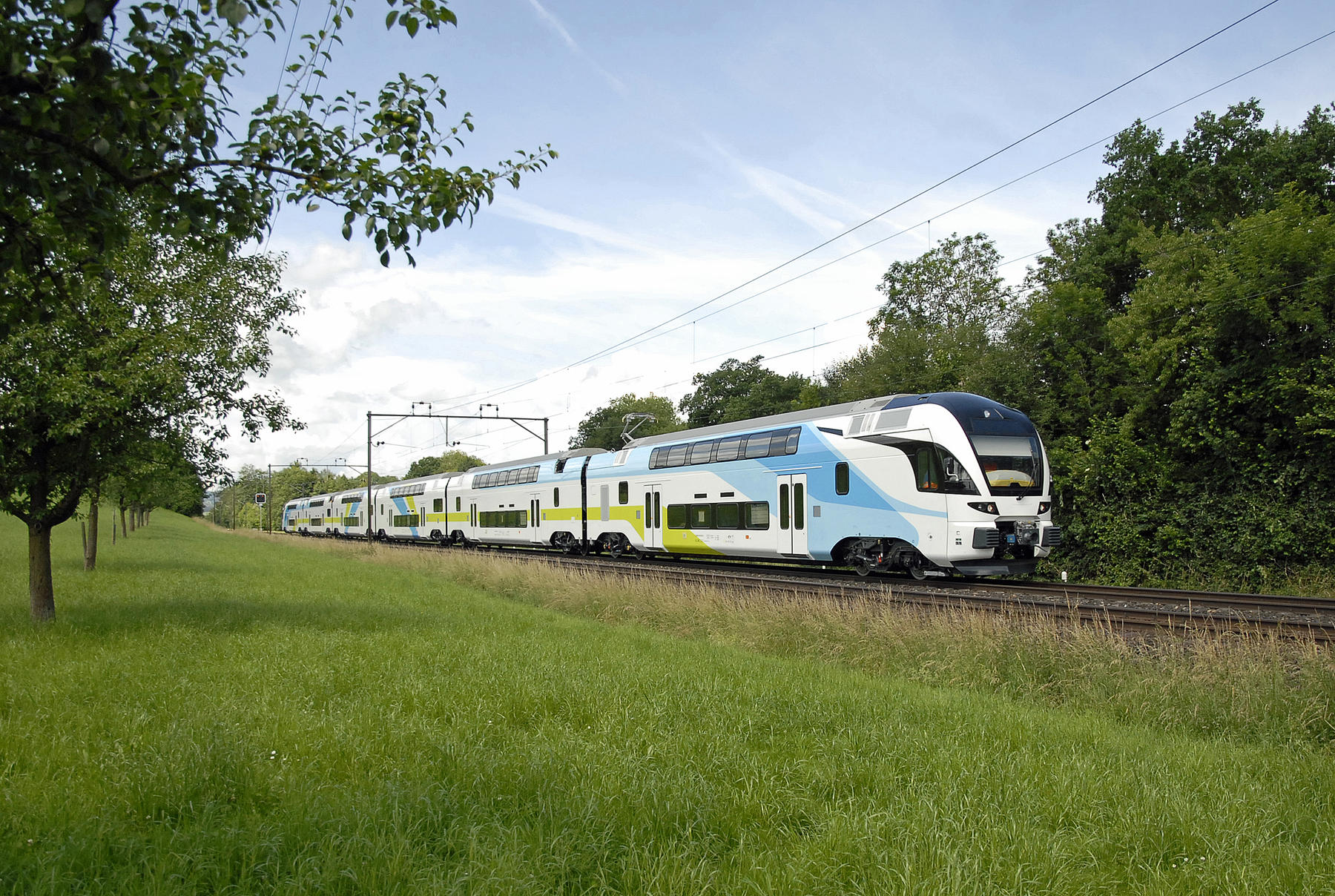 Stadler KISS train for WESTbahn