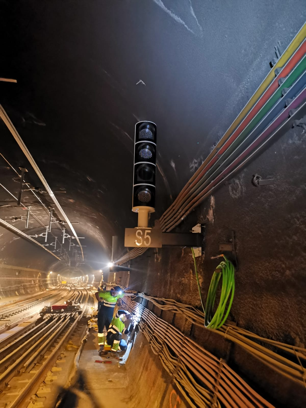 Alstom performs signalling works in Recoletos Tunnel