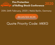 Fire Protection of Rolling Stock event logo