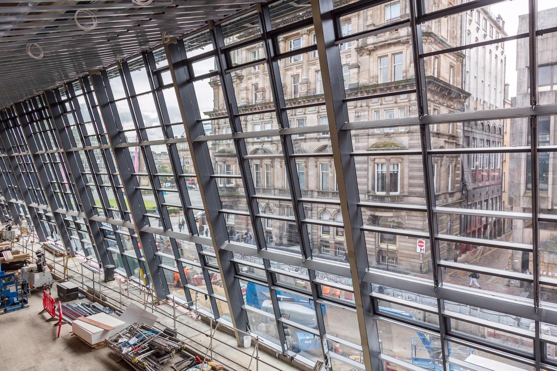 Glasgow Queen Street Station glazing