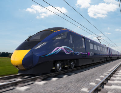 Hull Trains Receives First Hitachi Class 802 'Paragon'