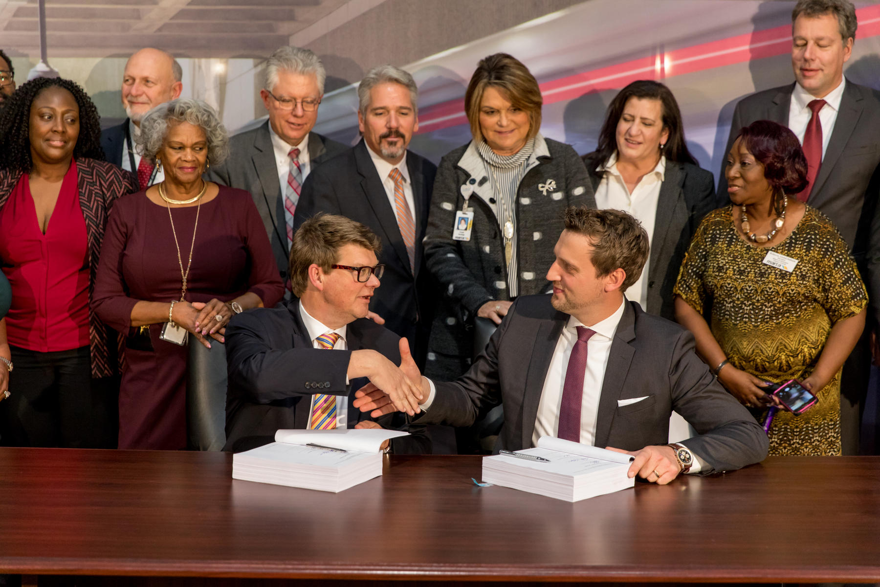 MARTA signs contract for 127 METRO trains with Stadler