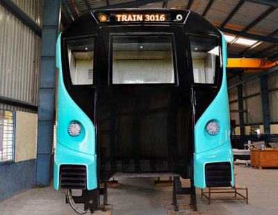 Alstom Reveals Model for the Aqua Line in Mumbai