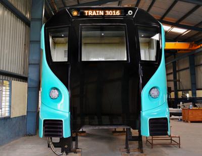 Alstom Reveals Model for the Aqua Line in Mumbai