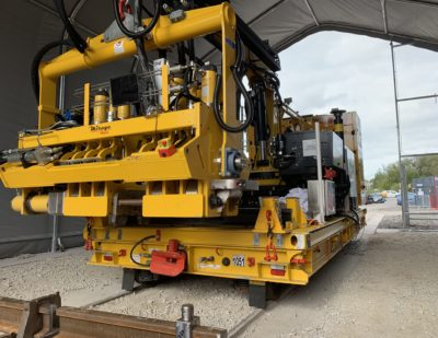 Mirage Rail Goes Global with Rail Induction Welding System
