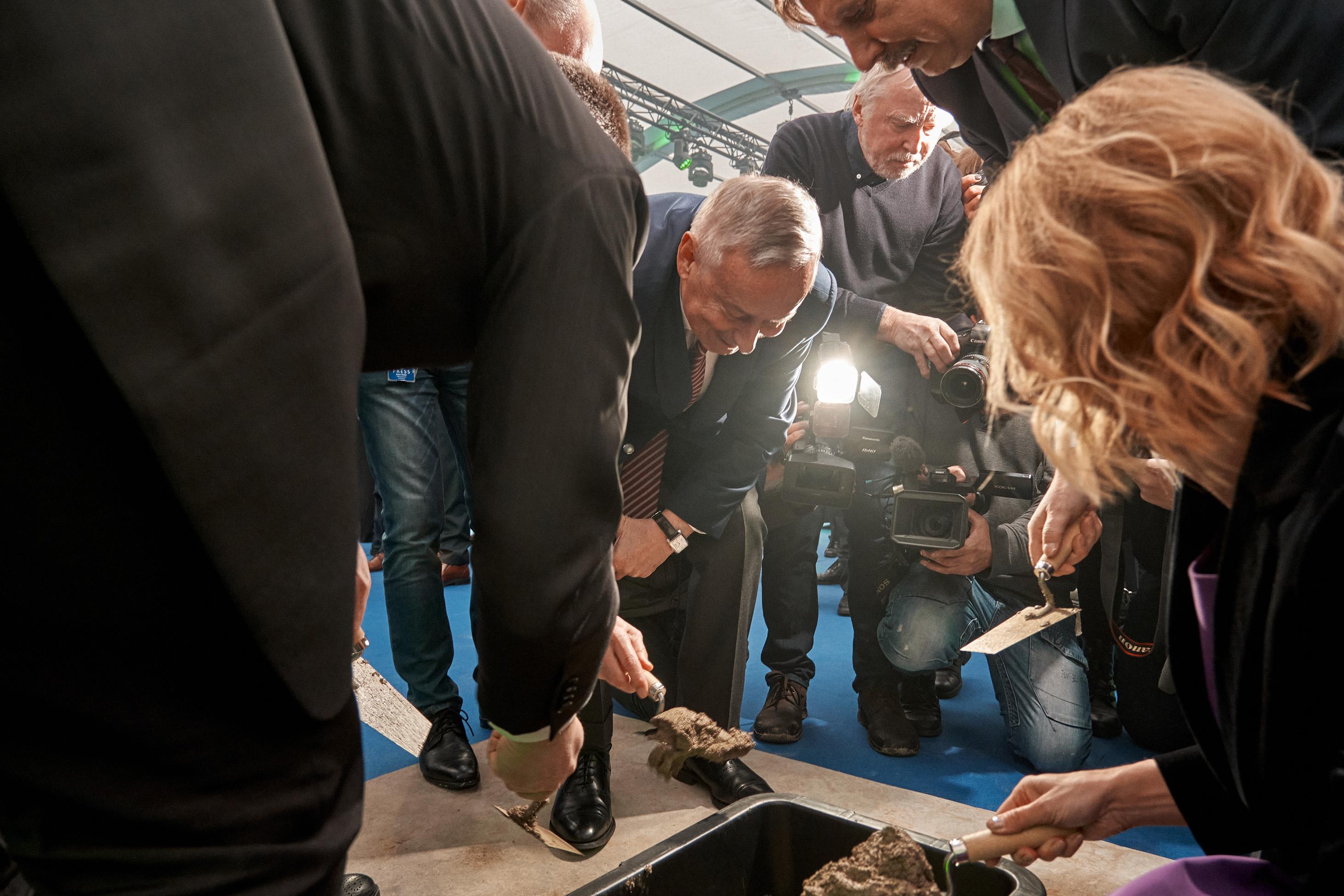 Rail Baltica construction begins in Estonia