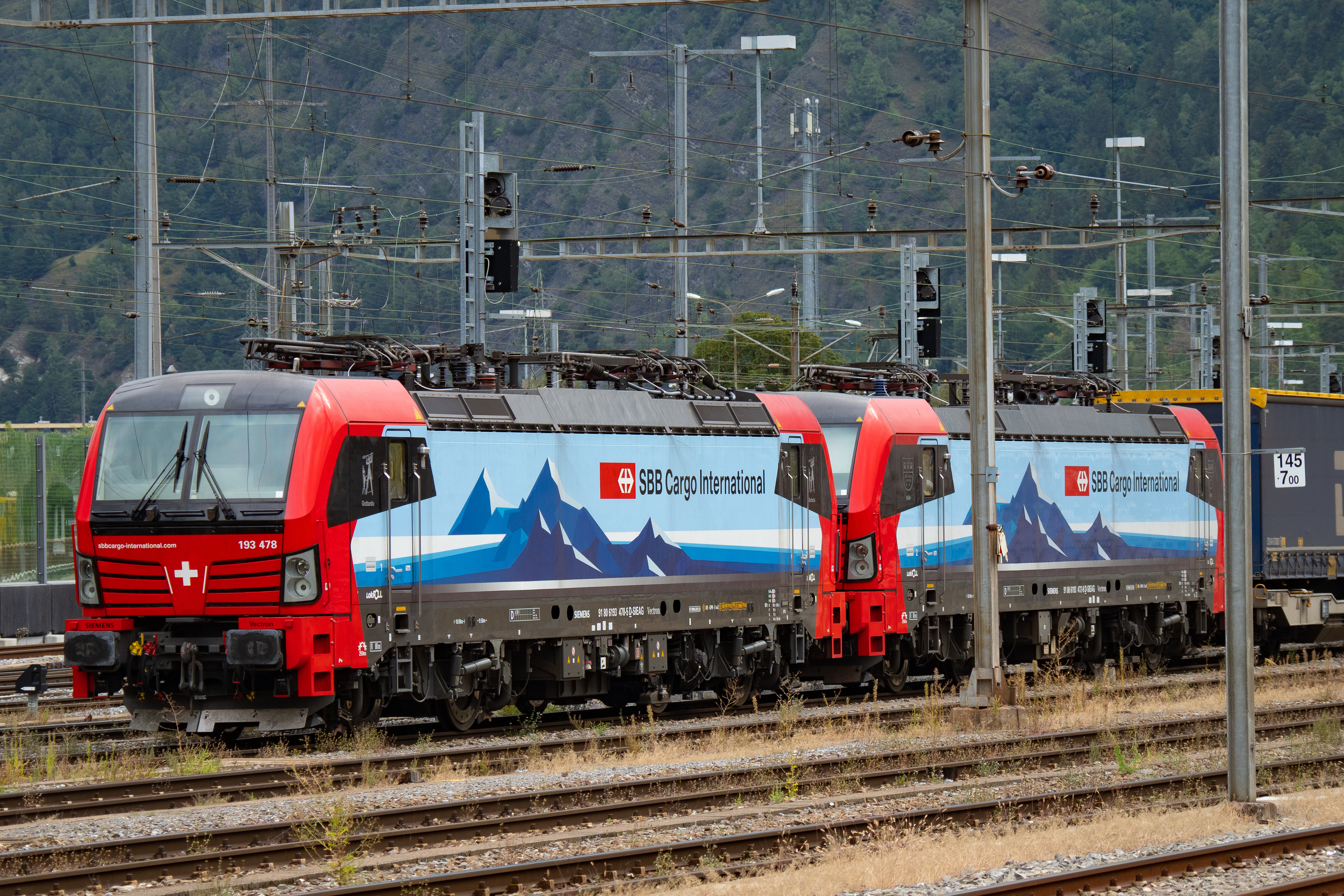 SBB Cargo locomotives