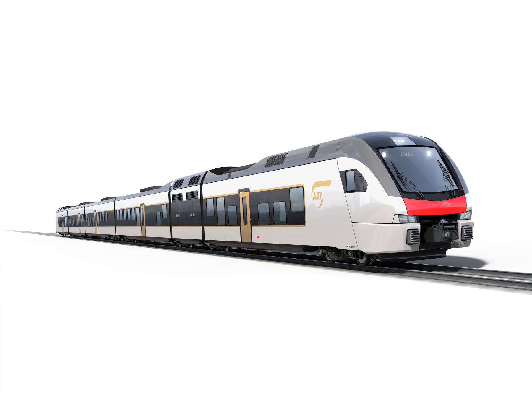 Stadler FLIRT for Azerbaijan Railways