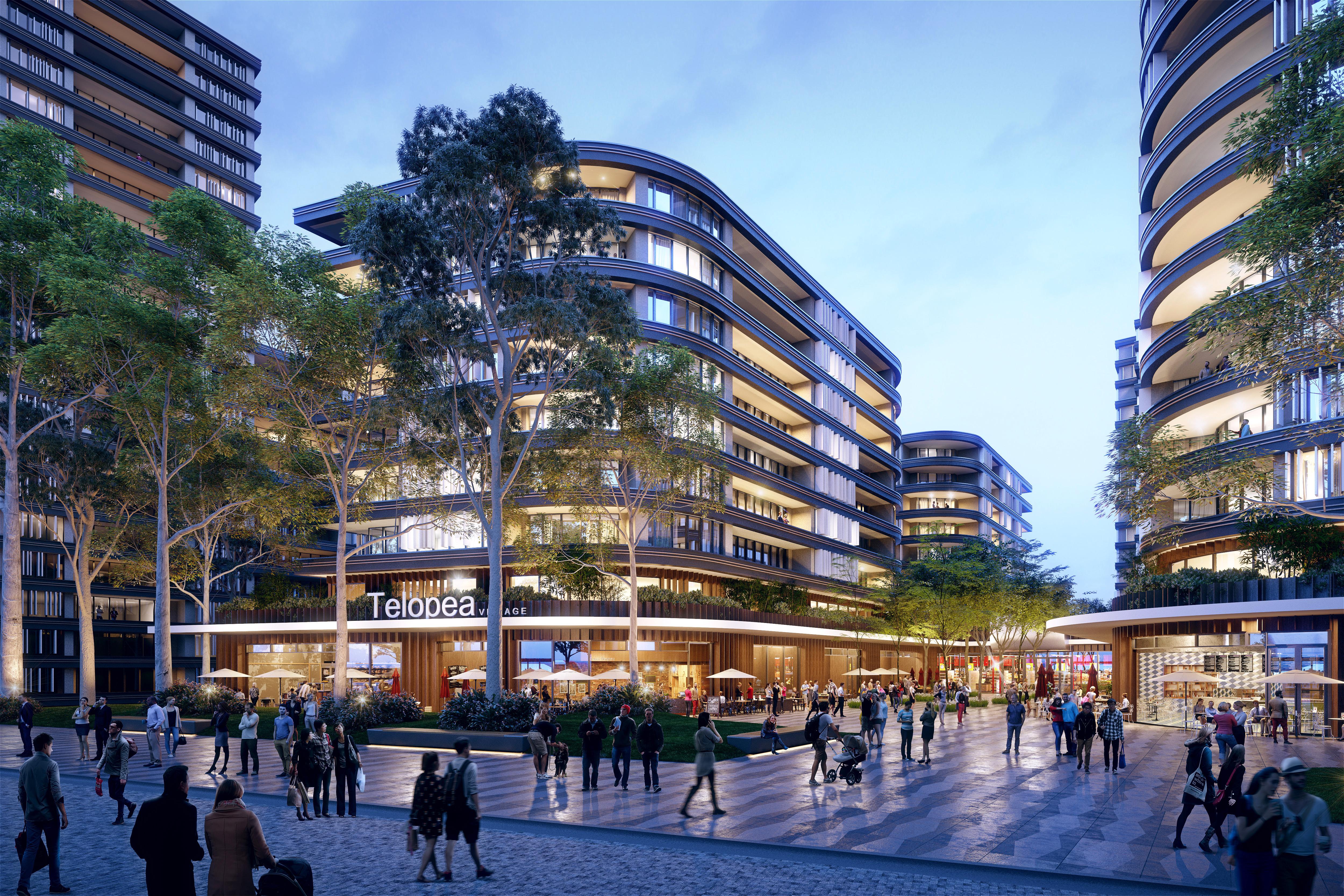 Parramatta Light Rail Telopea Plaza
