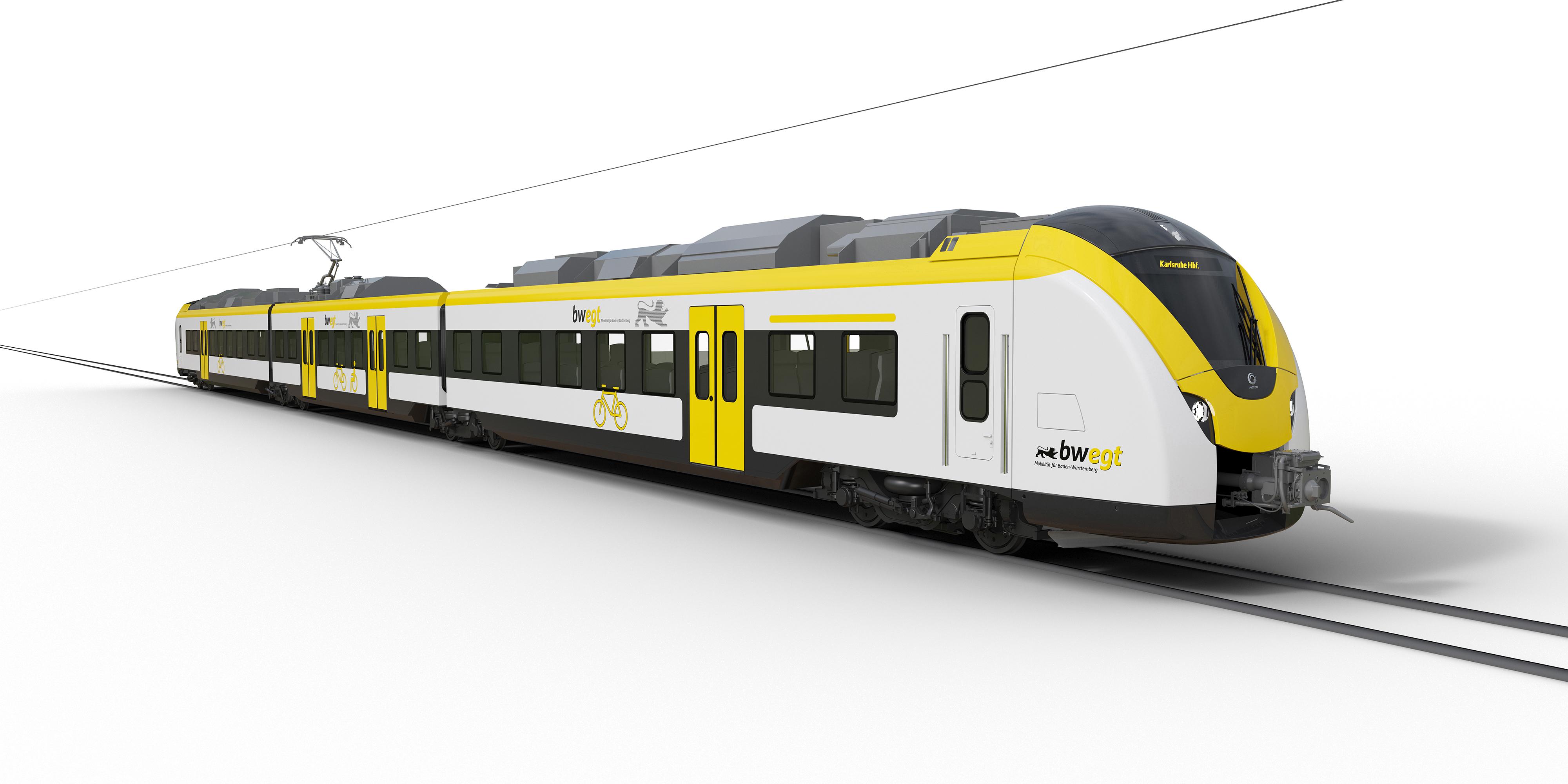 Alstom Coradia Continental for DB Regio Baden Wuerttemberg