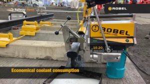 ROBEL Battery Powered Rail Drilling Machine