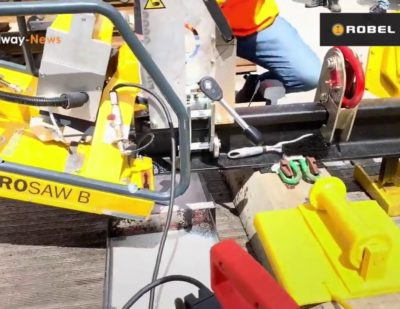 ROBEL Battery Powered Rail Band Saw