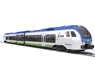 Stadler Wins FLIRT H2 Hydrogen Train Contract in the US