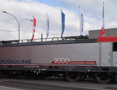Bombardier Vado Ligure Site Marks 2000th Locomotive Milestone