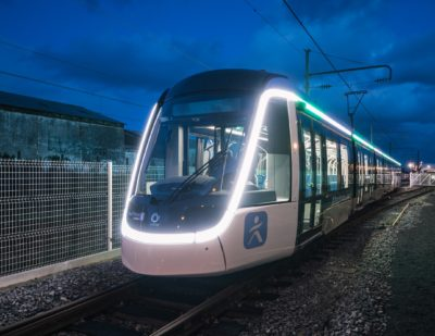 First Alstom Citadis Tram for Île-de-France T9 Line Inaugurated