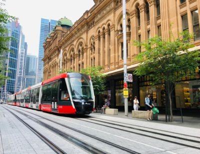 Sydney L2 CBD and South East Light Rail Opens
