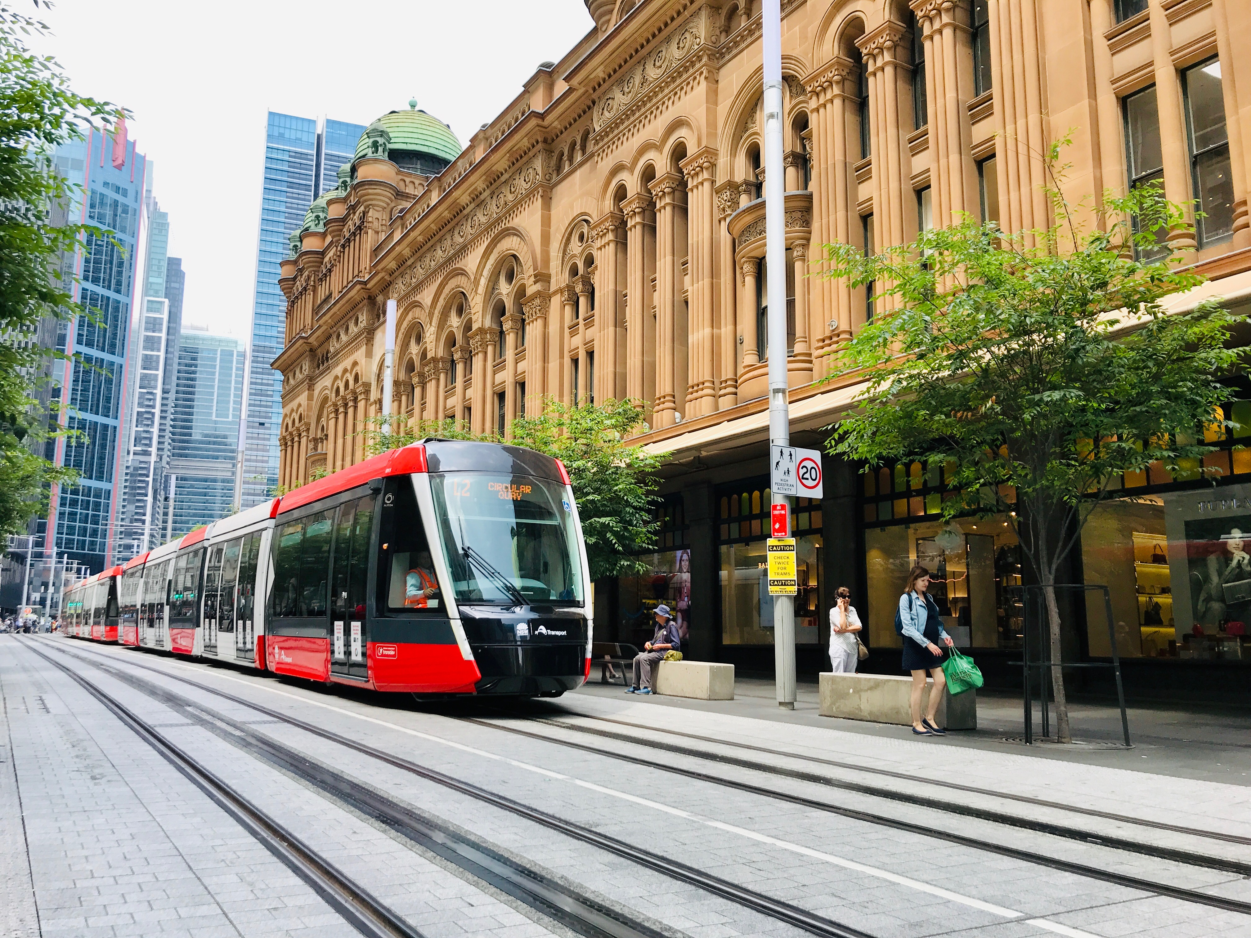 Alstom Citadis for Sydney CBD and South East Light Rail project