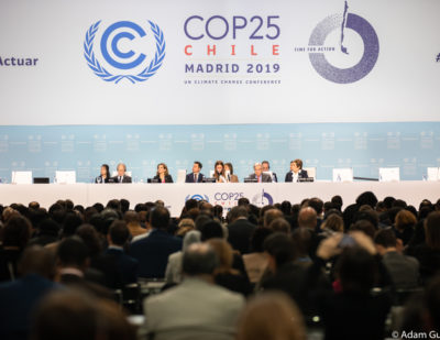 "COP25: Rail ""the only realistic and immediate solution to reduce the CO2 footprint"""