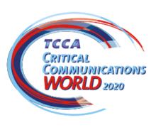 Critical Communications World 2020